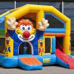 Clown Multiplay springkasteel