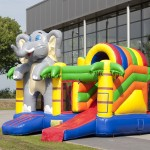 Olifant multiplay springkasteel