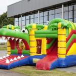 Krokodil multiplay springkasteel