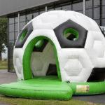 Voetbal springkasteel